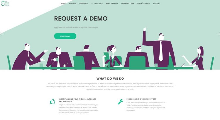 Social value Portal Banner Image